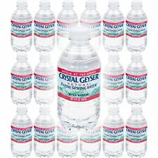 Crystal Geyser Water, Purified Water, 8 Fl Oz (Pack of 18, Total of 120 Fl Oz)