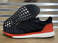 Adidas Solar Drive Running Shoes Boost Black Red White SZ ( AC8134 )
