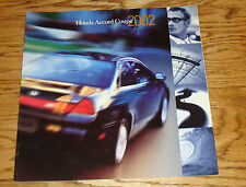 Original 2002 Honda Accord Coupe Deluxe Sales Brochure 02