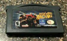 Gameboy Advance Rock 'N' Roll Racing Game - Clean & Tested Working - Free Ship