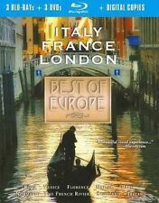 Best of Europe Collection (Blu-ray/DVD, 2010, 6-Disc Set, + Digital Copy)  NEW