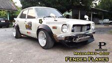 """JDM Fender Flares Wheel arch for Mazda RX3 808 4 door /premium sheet metal 1/32"""""""