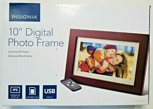 "Insignia - 10"" Widescreen Digital Photo Frame"