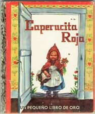 Vintage Little Golden Book LITTLE RED RIDING HOOD ~ Spanish Ed ~ CAPERUCITA ROJA