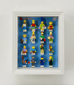 Display Frame case for Lego The Simpsons Series 1 minifigures 71005 28cm