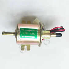 Universal 12v 2.5-4 PSI Gas Diesel Inline Electric Fuel Pump Low Pressure HEP02A