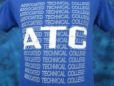 vintage 80s ASSOCIATED TECHNICAL COLLEGE CALIFORNIA T-Shirt XS/S computer thin
