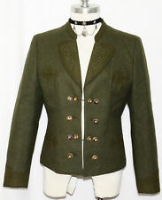 "BAVARIA LODEN Wool Riding Hunting Jacket Western Austria Dirndl Coat B40"" 10 M"