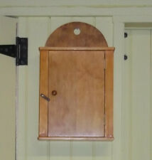 Small Hanging Wall Cabinet in Shaker Style, Handcrafted, Folk, Rustic