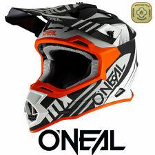 Oneal Motocross Helmet 2 Series Orange Spyde 2.0 MX Helmet Dirt Bike Off Road