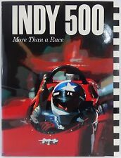 Tom Carnegie Indy 500 More Than A Race 1st Print Book Indianapolis 500 IndyCar