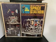 Vintage MATTEL MATT MASON SPACE STATION Box Only