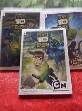DVDs Ben 10 Alien Force Lot of 3  Volumes 1 2 4 Cartoon Network