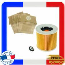 Sacs Et Filtre Pour Aspirateur Karcher WD2.200 WD3.500 Humide et Sec HOOVER 141