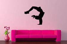 Wall Vinyl Sticker Room Decals Mural Design Cheerleader Girl Pompons bo1139