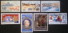 Mauritanie 1962 / 1966 poste aérienne air mail 7 valeurs Neuf** / MNH
