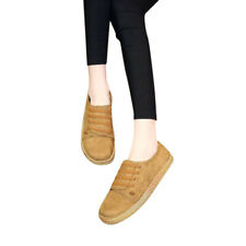 Womens Flats Shoes Round Toe Shallow Slip-on Canvas Shoes OxfordFlats Shoes TP