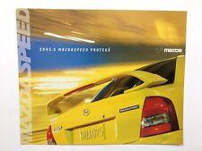 2003 2004 MazdaSpeed Protege Original Car Sales Brochure Folder