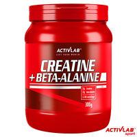 CREATINE Monohydrate POWDER With BETA-ALANINE 300g - Muscle Energy & Strength