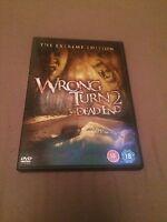 Wrong Turn 2 - Dead End (DVD, 2008) region 2 uk dvd