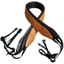 PU Leather DSLR SLR Camera Shoulder Strap Neck Belt Hand Grip Long Strap New Hot