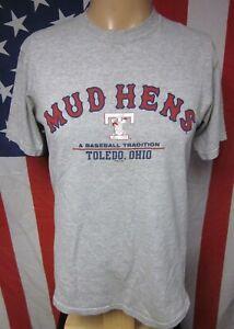TOLEDO MUD HENS med T shirt Ohio minor league Tradition baseball 2006 tee