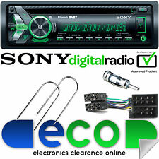 Renault Scenic 2003-2009 SONY DAB BLUETOOTH CD MP3 USB Automóvil Estéreo Kit De Montaje &