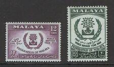 [ZZA-251a]  -  Malesia  :  1960  -  Anno del Rifugiato   -  **  MNH