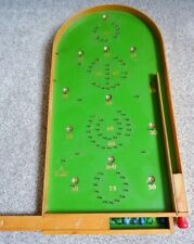 Great Vintage Wooden Handmade Pinball Game in Box