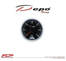 DEPO RACING DIGITAL BENZINDRUCK ANZEIGE / FUEL PRESSURE GAUGE CSM-W5267B 0-7 BAR