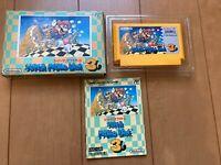 Super Mario Bros 3 BOX and Manual Famicom  Japan NES Nintendo M02