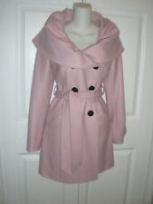 NEW~BEBE Oversized Shawl Collar Coat in Soft Pink~XS