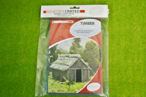 Renedra TIMBER Outbuilding Plastic Scenery Terrain 28mm - 1/56th Scale