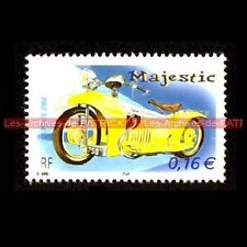 MAJESTIC 350 / 500 - FRANCE Moto Timbre Poste Stamp