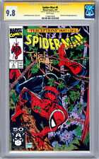 SPIDER-MAN #8 CGC-SS 9.8 *FIRST PRINT SIGNED BY ORIG ARTIST TODD MCFARLANE* 1991