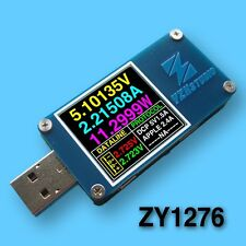 Dual USB Power Monitor QC 3.0 TypeC PD tester Charge Voltage current Capacity