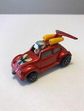 MATCHBOX LESNEY SUPERFAST RED BARON FLYING VW BUG  1972 Hot Rod Diecast