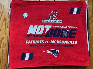 New England Patriots vs Jacksonville Jaguars Rally towel!! AFC Championship