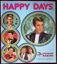 HAPPY DAYS ALBUM PANINI 1979 RARO CON 12 FIGURINE ATTACCATE COND ECCELLENTI POP