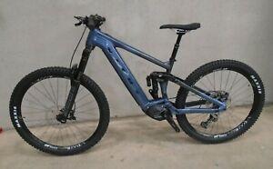 Vitus E-Sommet 297 VRS Mountain Bike (2021) - MEDIUM - MIDNIGHT BLUE