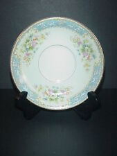 Rose China Occupied Japan Bread & Butter Plate RO3 Blue Border
