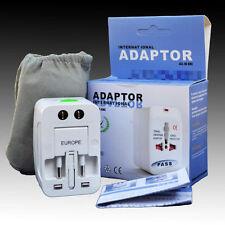 Universal Travel Adapter All In One Power Plug Converter US EU GB AU China plug
