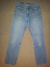 LEVIS 505 regular fit straight leg Jeans pantalon bleu stonewashed taille M (w32 l34)
