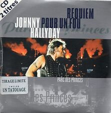 ★☆★ CD SINGLE Johnny HALLYDAY	Requiem pour un fou - Tirage Limité Tatouage ★☆★