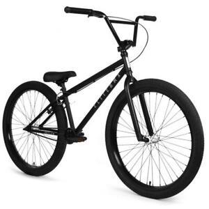 "Elite Enforcer CrMo 26"" BMX Bicycle Bike 3-Piece Crank Black New 2021"