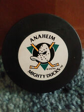 Anaheim Mighty Ducks NHL souvenir puck