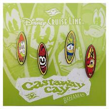 Disney Parks Cruise Line Surfboard Booster Pin Set Pins Pack