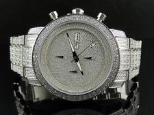 Iced Mens Jojo/Jojino Joe Rodeo Stainless Steel 1.05 Ct Diamond Watch MJ-1000