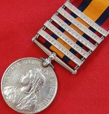 BRITISH ARMY BOER WAR QUEENS SOUTH AFRICA MEDAL 1st COMPANY IMPERIAL YEOMANRY