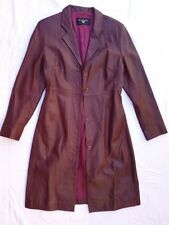 Leather Button-Down Casual Coats & Jackets for Women